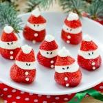 healthy snacks for santa