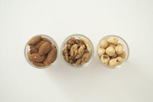 almonds cashews and pistachios